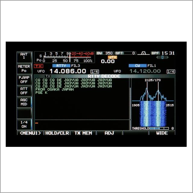 IC-7600 RTTY