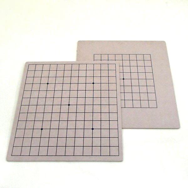 碁盤 MDF材9・13路盤(裏表)両用盤
