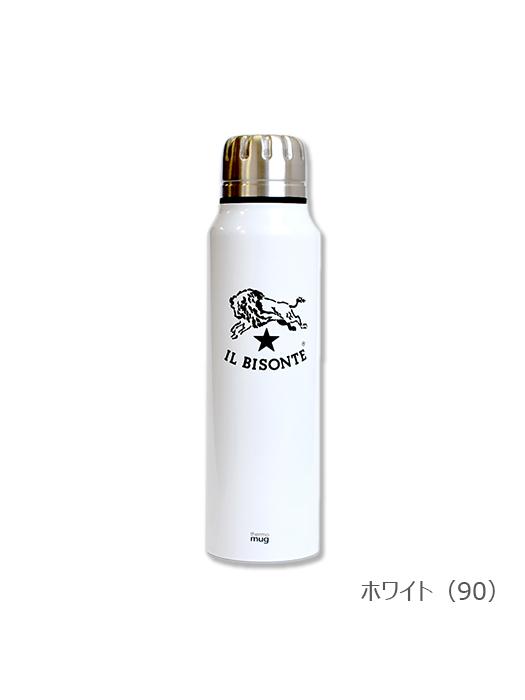 イルビゾンテ【ステンレスサーモボトル】ホワイト