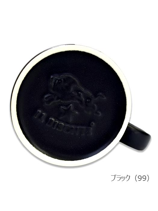 イルビゾンテ【マグカップ】ブラック・底面ロゴ。2017最新アイテムです。