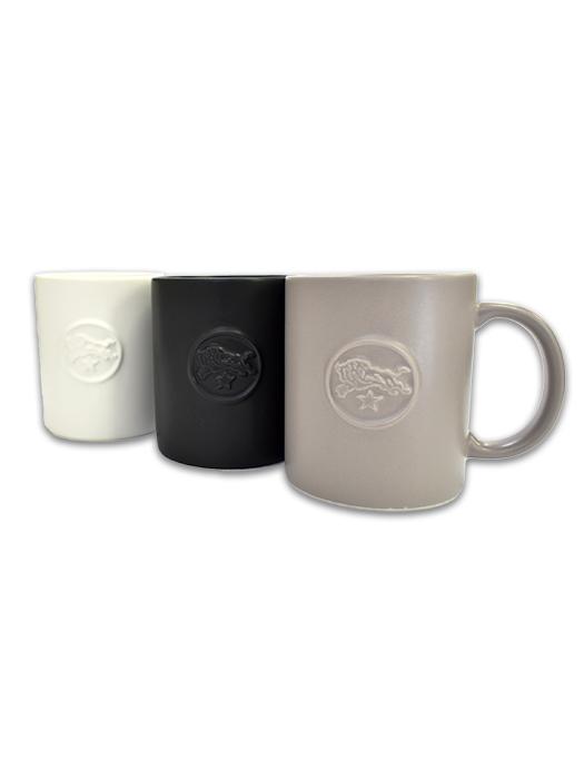 イルビゾンテ【マグカップ】ホワイト/グレー/ブラック。2017最新アイテムです。