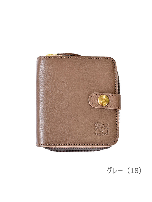 IL BISONTE イルビゾンテ【54172309440 折財布】グレー