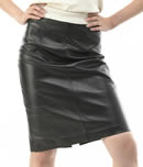 patricia heaton in leather miniskirt