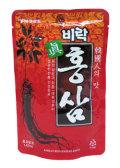 漢方素材配合の伝統健康飲料! ビラク 眞紅参 (140ml)