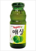 [ロッテ] 梅ジュース〈瓶〉 (180ml)