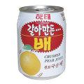 梨の果汁とすり梨が楽しめる一品★ヘテ 梨ジュース238ml(缶)×12本入り
