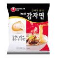 ★韓国ラーメンの一品!★ジャガイモ粉を捏ねて作り上げた麺はコシがあってもちもち!/韓国ラーメン/ジャガイモ麺1箱32個入り/ 農心