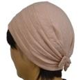医療用帽子おしゃれヘアキャップ【天使の帽子】23003 綿 ソフトなキルトジャガード 医療用キャップ 日本製