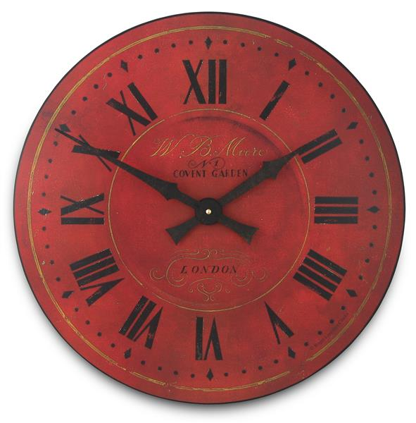 ロジャーラッセル RogerLascelles 掛け時計 Large Covent Garden clock design  50cm GAL-MOORE