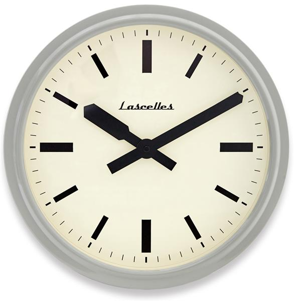 ロジャーラッセルRogerLascelles社製 Deep Retro Dove Grey Wall Clock 36cm掛け時計 RETRO-LONDON-GREY