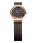 BERING腕時計 ベーリングリストウォッチ レディース Classic Curving Mesh 10122-262