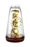 ムーブメントが見えるスケルトンデザイン!ヘルムレ(HERMLE)振り子置き時計  Turin2 ウォルナット 22001-030791