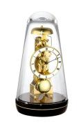 ムーブメントが見えるスケルトンデザイン!ヘルムレ(HERMLE)振り子置き時計  Turin3 ブラック  22001-740791