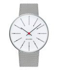 ����͡��䥳�֥����ӻ��� ARNE JACOBSEN Bankers Watch Mesh��40mm  43001