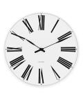 ����͡��䥳�֥���ݤ����� ARNE JACOBSEN Wall Clock �?�ޥ�å��� 160mm��43622