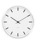 アルネ・ヤコブセン掛け時計 ARNE JACOBSEN Wall Clock CityHall 210mm 43631