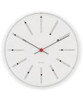 アルネ・ヤコブセン掛け時計 ARNE JACOBSEN Wall Clock Bankers 290mm 43640