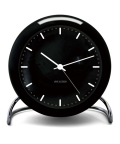 ����͡��䥳�֥����֤����� ARNE JACOBSEN��Table Clock CityHall ��Black 43673