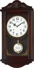 アンティーク調で美しい音色の報時付き!振り子時計 アタシュマンR 4MJA01RH06 (シチズン時計) リズム時計