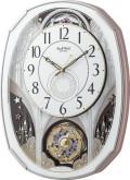 文字盤が360度回転します!からくり時計スモールワールド ノエルM 4MN513RH03 リズム時計