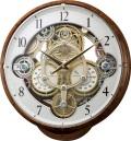 文字盤が360度回転します!からくり時計スモールワールド シーカー 4MN515RH23 リズム時計