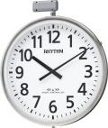 JIS防雨タイプ!今あるポールに簡単取りつけ!屋外用電波掛け時計 夜間自動点灯タイプ ムーンライトN 4MY812RH19 ポールφ80〜100mm シチズン時計