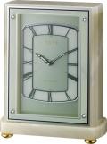 重厚感漂うオニックスが魅力!置き時計 ハイグレード RHG-R50 リズム時計 4RY708HG05 無料名入れ