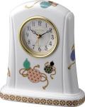 香蘭社・リズム時計共同開発品 置き時計 ハイクオリティコレクション 瓢箪415 リズム時計 4SE415HG04 無料名入れ