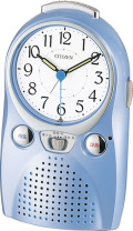 録音再生できる目覚まし時計! 伝言くんルージュW 4SE521-004 シチズン時計