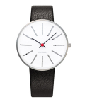 ����͡��䥳�֥����ӻ��� ARNE JACOBSEN Bankers Watch Leather  34mm��53101-1601
