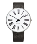 ����͡��䥳�֥����ӻ��� ARNE JACOBSEN Roman Watch Leather  40mm��53302-2001