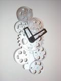 いくつもの歯車の動きが楽しい  掛け時計 ギアタイムス