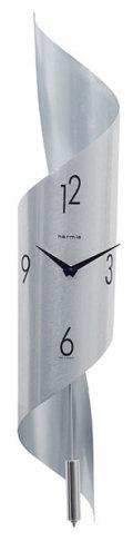 スタイリッシュなステンレスチューブ ヘルムレ(HERMLE)製振り子時計Savanna2 70944-002200