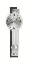 斬新デザインが目を引きます! AMS(アームス)振り子時計 7255