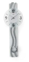 ウェーブ模様がお洒落です! AMS(アームス)振り子時計 7259
