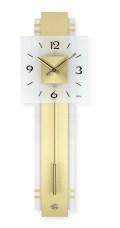 真鍮とガラスのコンビがお洒落です! AMS(アームス)振り子時計 7301