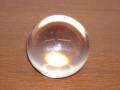 クリアに光り輝く ガラス球