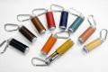 バックやベルトループに簡単取り付け!シリンダー型レザー携帯灰皿