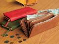 柔らかいレザーと収納力が魅力! レザーラウンドファスナー長財布 ミネルバ