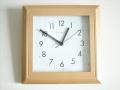 ヘルムレ掛け時計 木の優しさと温もりを感じる ヘルムレ(HERMLE)製ウッド掛け時計 SCOOP BASIC 30694-382100