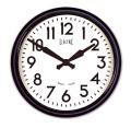 NEW GATE(ニューゲート) 50's Electric ブラック GWL44K 掛け時計 レトロな壁掛け時計