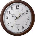電波掛け時計フィットウェーブアヤW 8MY513SR06 リズム時計