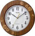 象嵌細工で高級感があふれています!電波掛け時計 アマービレM520 8MY520SR06  リズム時計