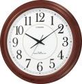大型で見やすい!電波掛け時計 パルウェーブMA02 8MYA02-006 シチズン時計