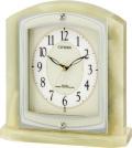 オニキスフレームが豪華!置き時計 パルラフィーネR400 8RY400-005 シチズン時計