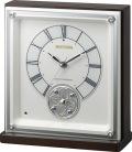 回転飾り置き時計 ハイグレード RHG-R03 リズム時計 8RY412HG03 無料名入れ