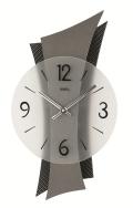カーボン繊維模様コーティングがアクセント! AMS アームス掛け時計 AMS9400