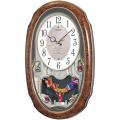 毎正時メロディで時を知らせます!アミューズ時計ウエーブシンフォニー AM213H セイコー SEIKO電波時計