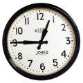 JONES掛け時計 Apollo Case Clock ブラック JAPO49K   掛け時計 レトロな壁掛け時計