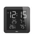 【日本正規代理店品】 ブラウンBRAUNデジタル掛け時計  BNC014BK-NRC 置き時計